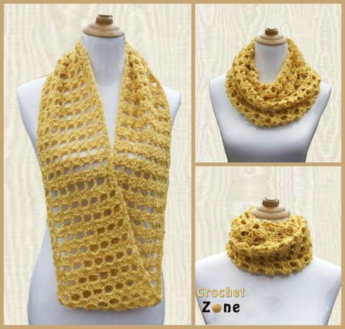Feminine Crochet Cowl Allfreecrochet