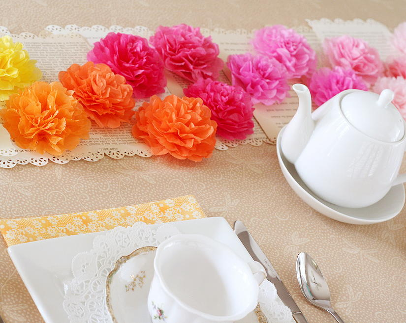 Mother s day tea party decorations favecrafts