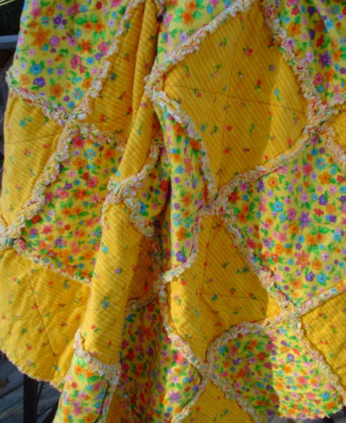 Sunny Baby Rag Quilt