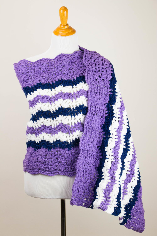 Duchess Of Cambridge Crochet Prayer Shawl Allfreecrochet