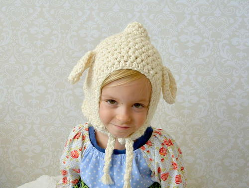 Vintage Lamb Crochet Toddler Hat Pattern Favecrafts