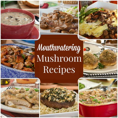 35 Mouthwatering Mushroom Recipes Mrfood