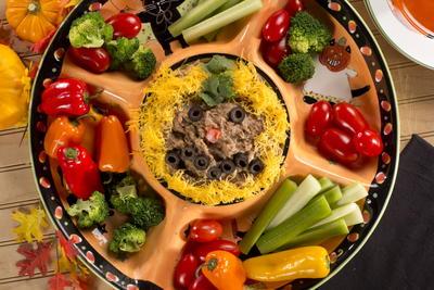 12 easy halloween recipes diabetic halloween treats the whole boo tiful bean dip forumfinder Gallery