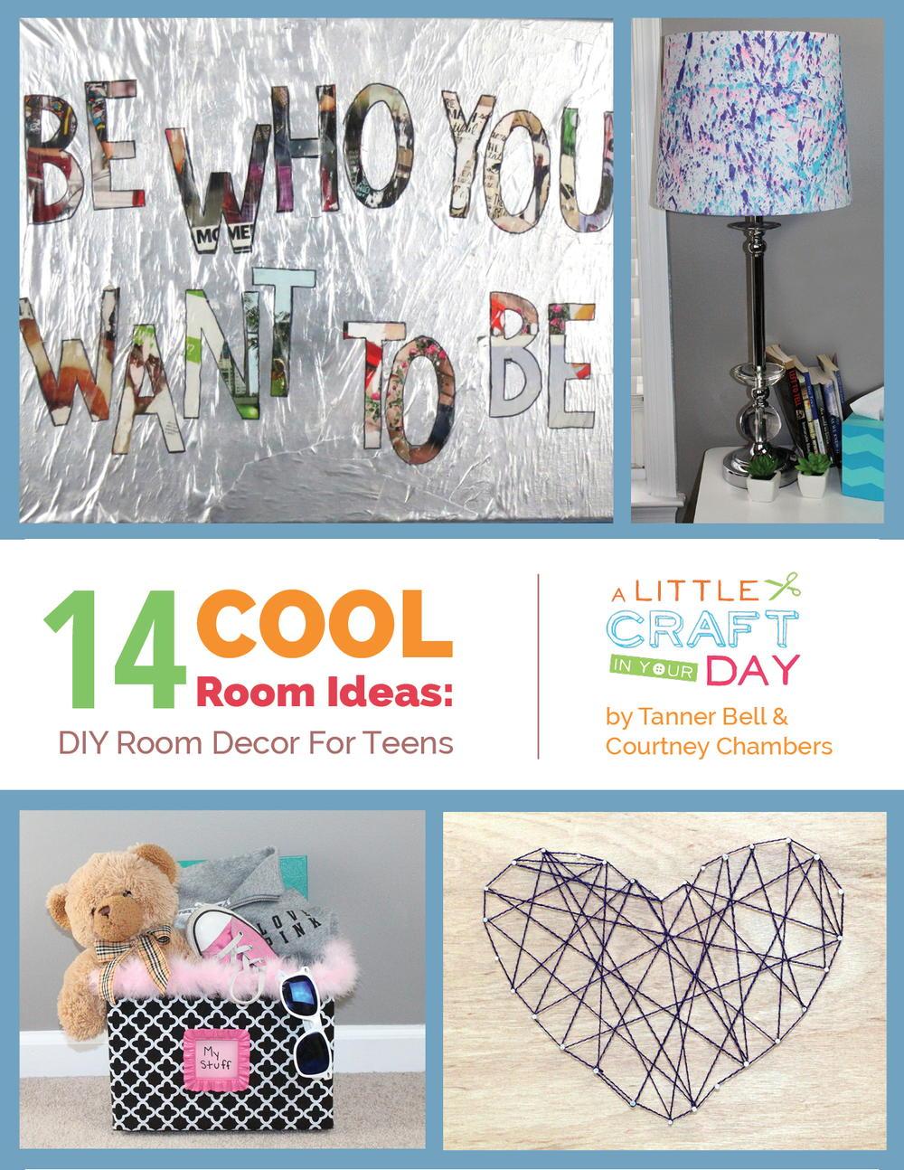 Craft Ideas For Your Room. Beautiful Diy Room Decor Blue Cute Teen ...