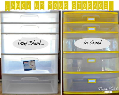 DIY Storage Makeover