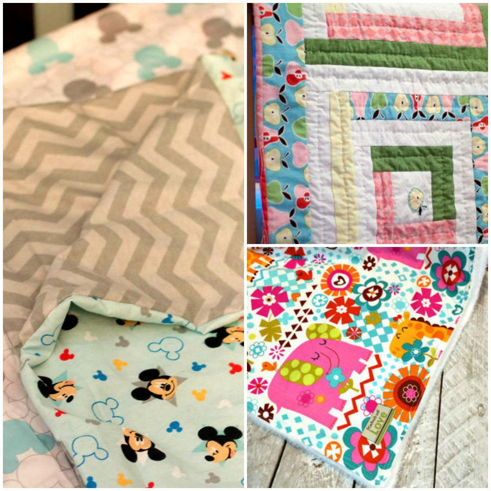 How to make a baby blanket 10 baby blanket patterns for sewing how to make a baby blanket 10 baby blanket patterns for sewing allfreesewing jeuxipadfo Gallery