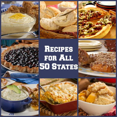 50 american food recipes for each state mrfood take a cross country trip across america with recipes from each of the 50 states our latest recipe collection 50 american food recipes for each state forumfinder Images