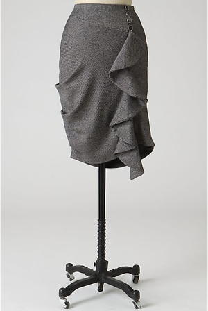 Anthropologie Work Skirt