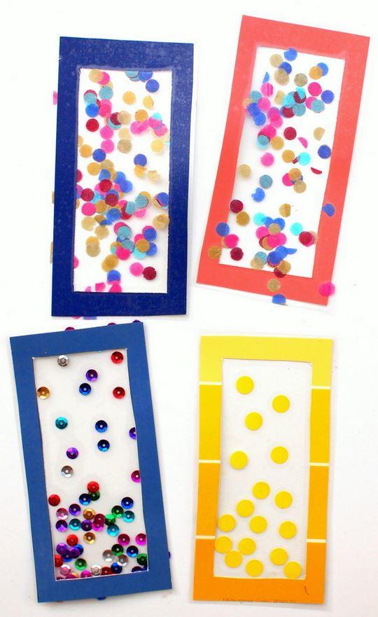 Confetti Diy Bookmarks Allfreekidscrafts Com