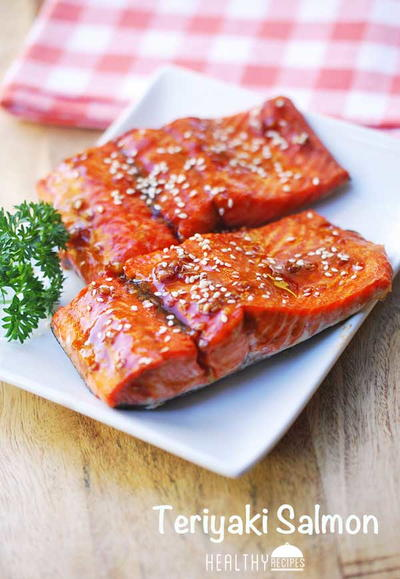 Low-Carb Teriyaki Salmon