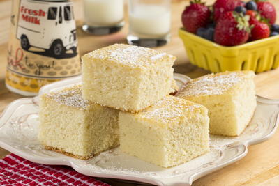 Old-Fashioned Hot Milk Cake