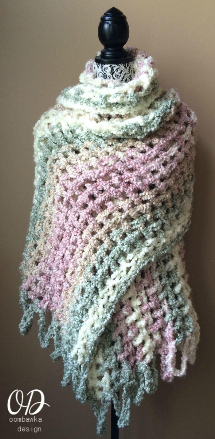 Gentle Solace Prayer Shawl Allfreecrochet Com