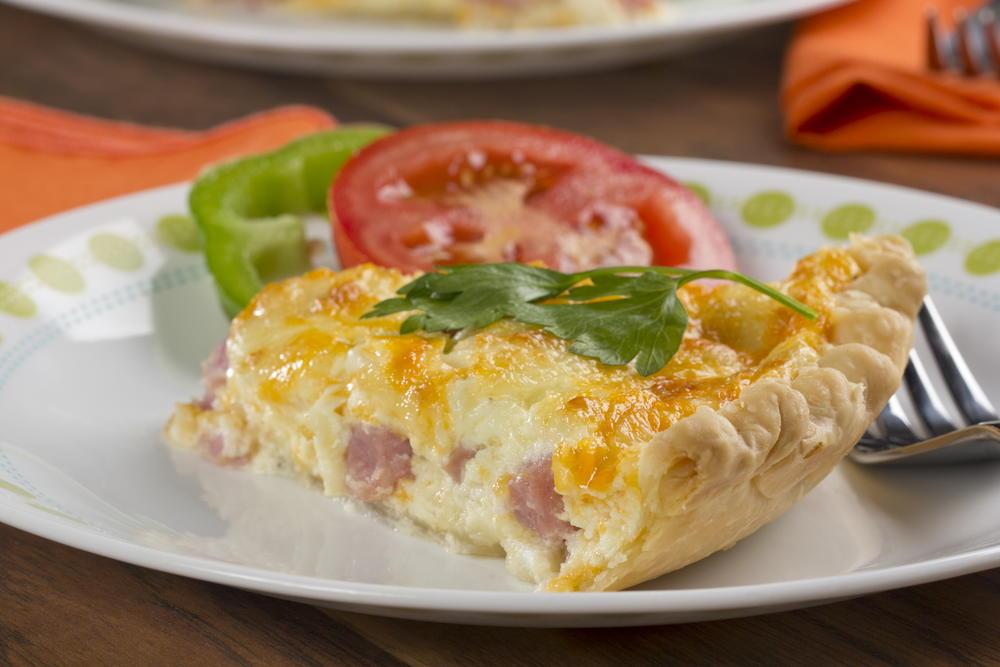 Ham And Cheese Quiche Mrfood Com