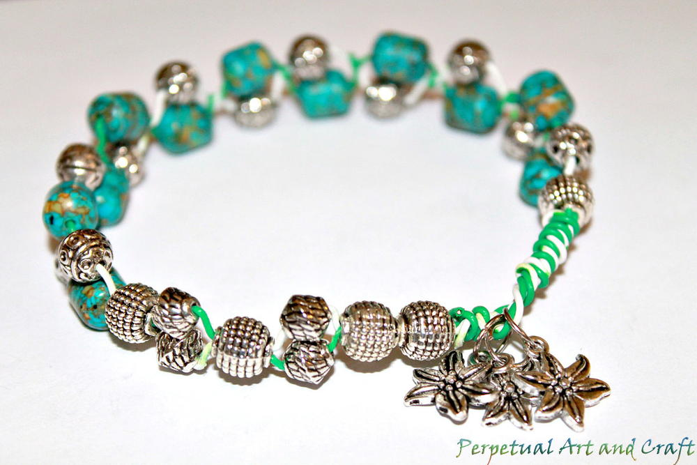 Recycled Cable Wire DIY Bracelet | AllFreeJewelryMaking.com