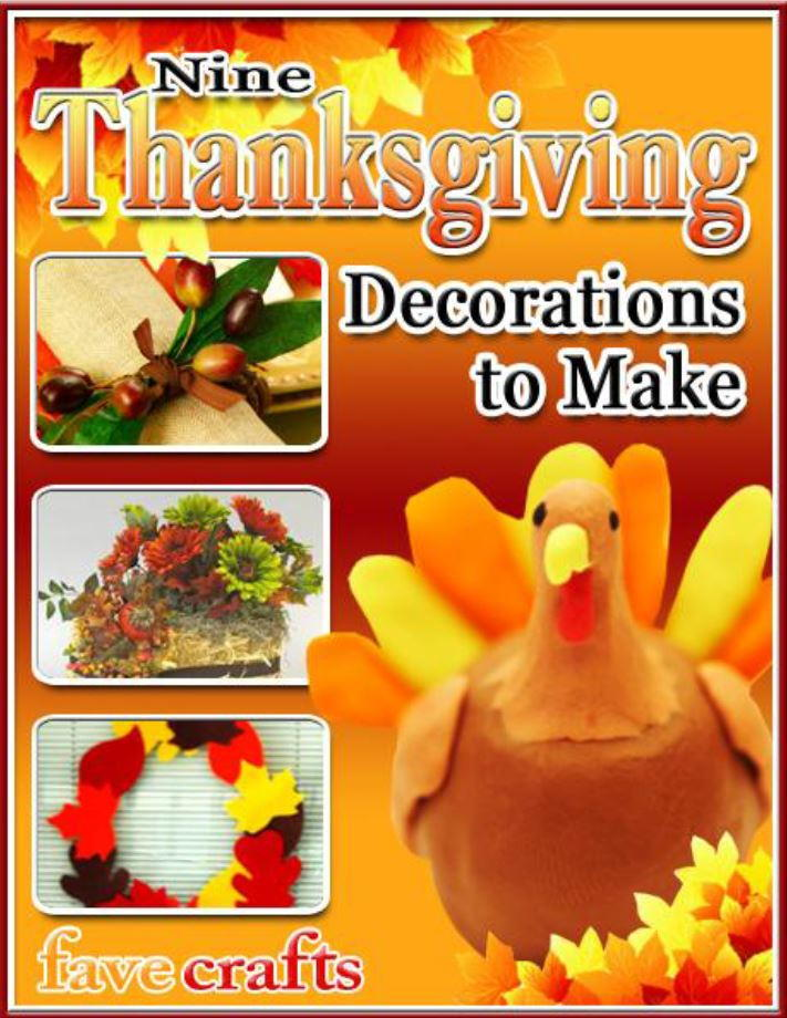 9 Thanksgiving Decorations To Make Ebook