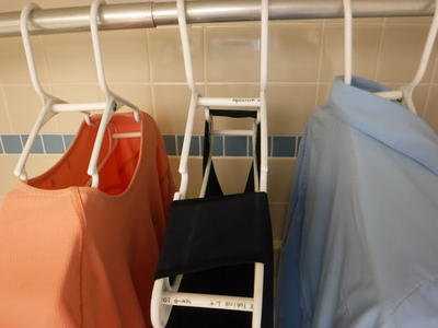 DIY Quick Dry Clothes Hangers