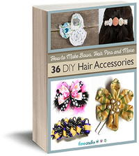 How to Make Bows, Hair Pins and More: 33 DIY Accessories