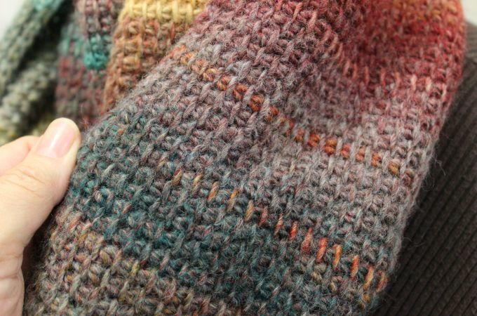 Quick Tunisian Crochet Cowl Allfreecrochet