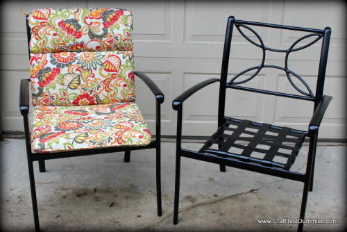 DIY Patio Furniture Makeover