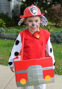 paw patrol diy halloween costume