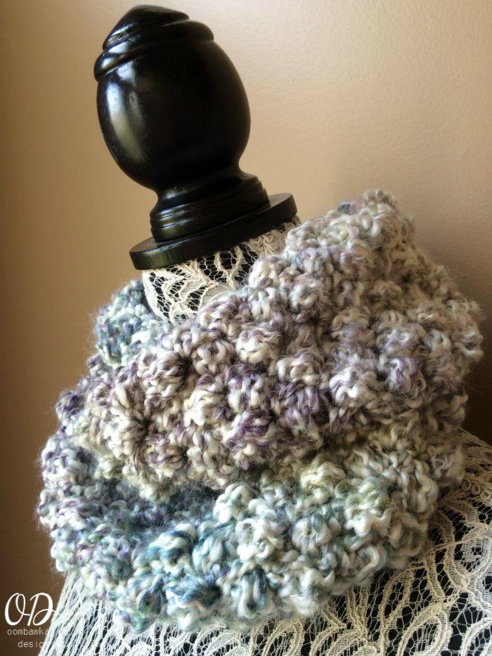 simply scrumptious scarf allfreecrochet