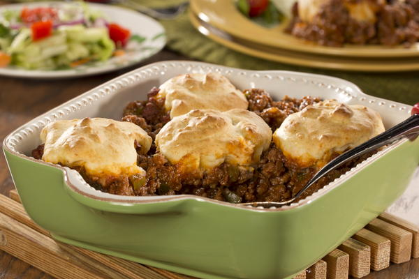 Sloppy Joe Biscuit Bake