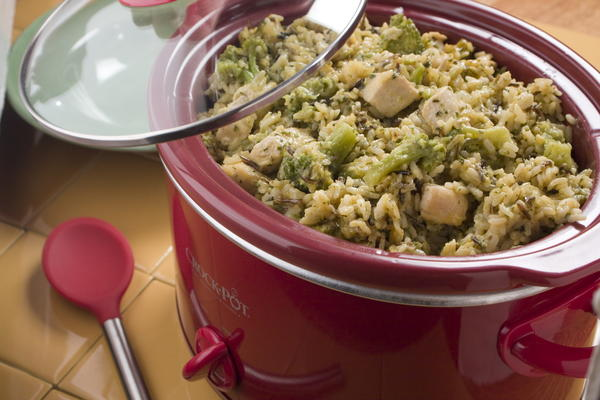 Slow Cooked Chicken and Rice
