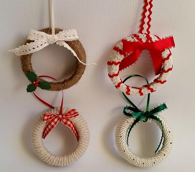 Celebrate The Holidays By Making Homemade Recycled Christmas Ornaments.  Your Tree Will Look Unique With Beautiful DIY Christmas Ornaments Made From  Recycled ...