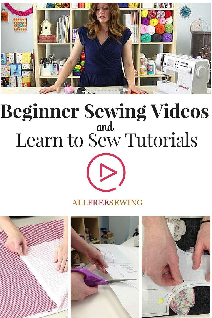 23+ Beginner Sewing Videos and Tutorials   AllFreeSewing.com