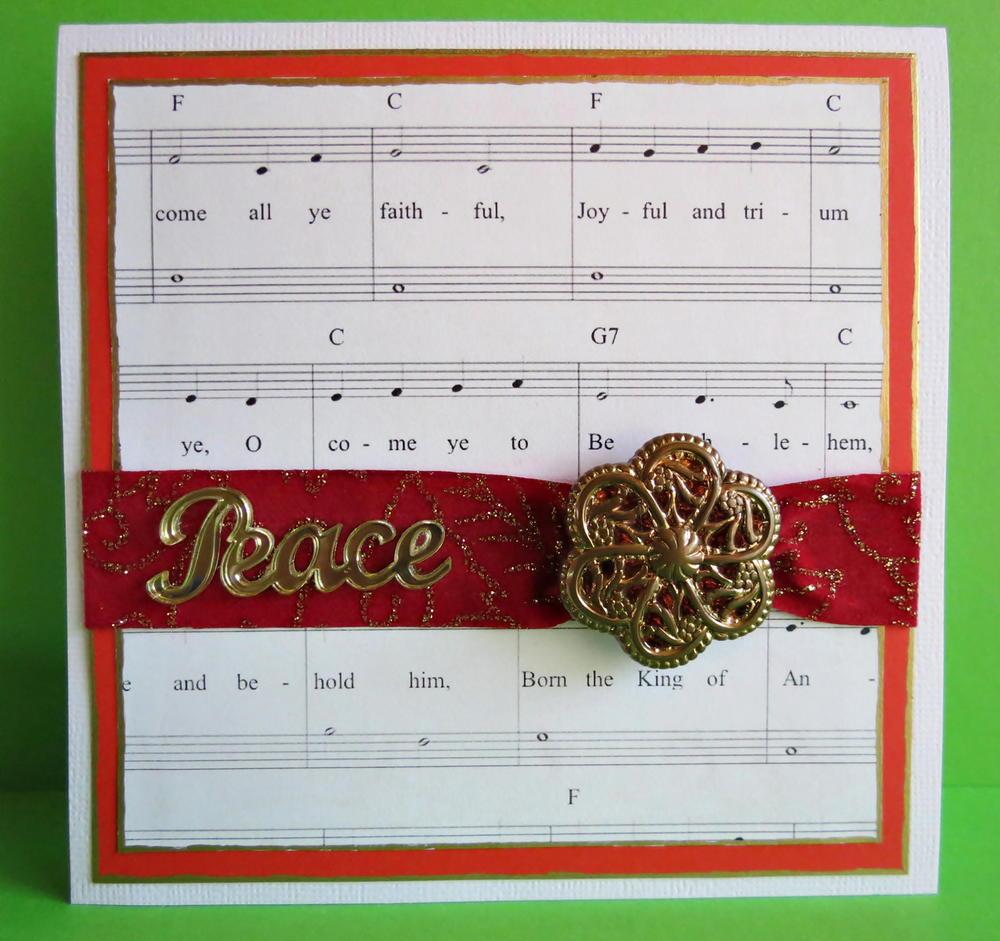simply elegant christmas card allfreepapercraftscom - Elegant Christmas Cards