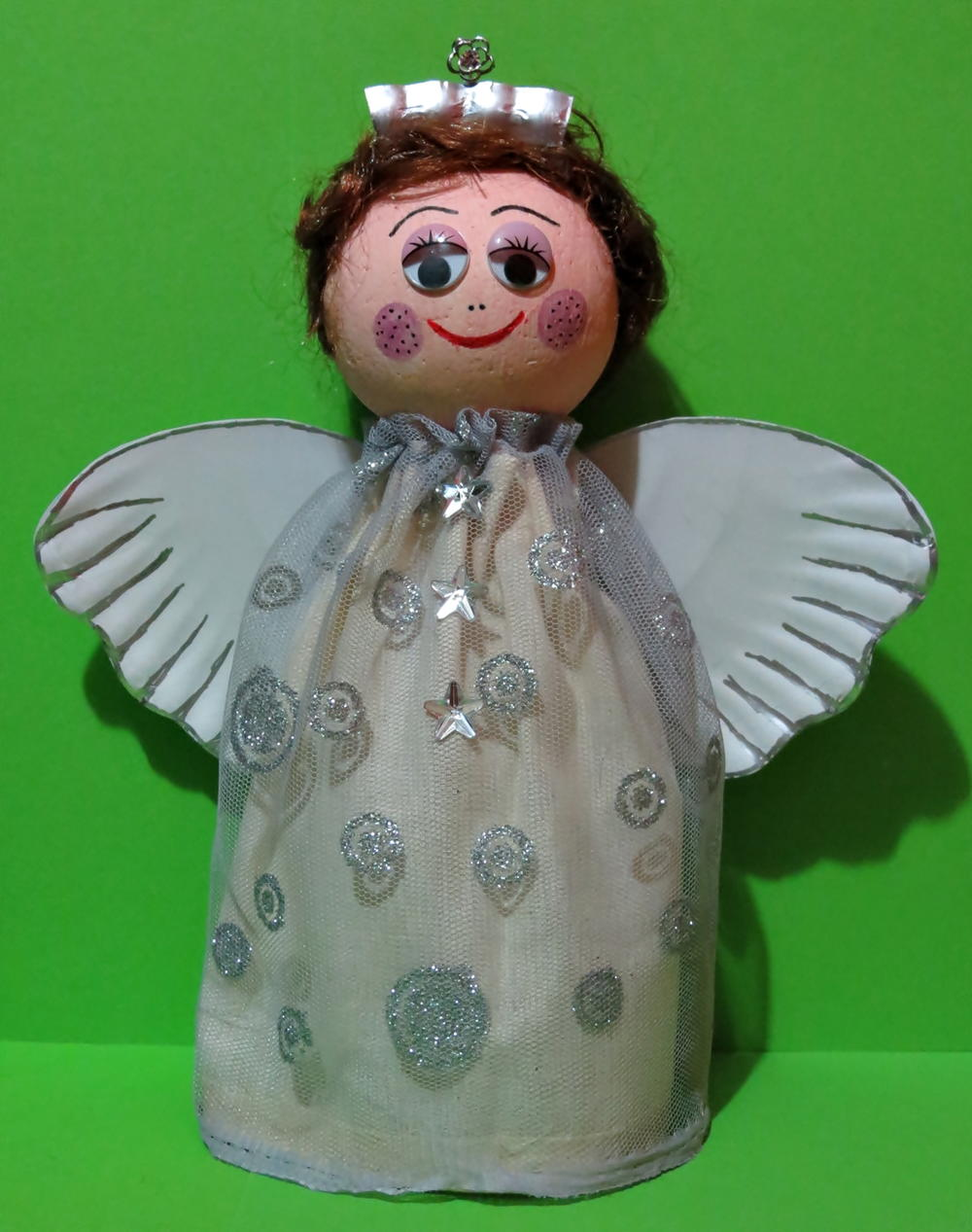 Recycled Plastic Bottle Christmas Angel Favecrafts Com