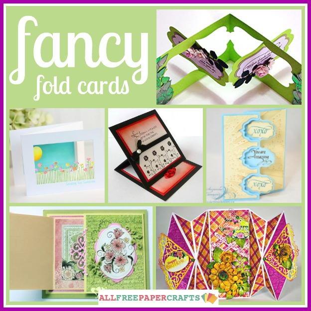 14 fancy fold cards allfreepapercrafts com