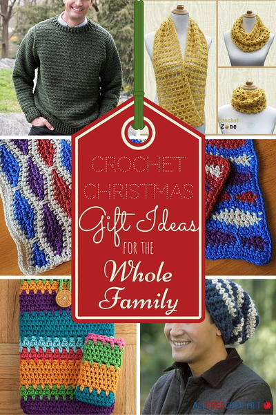 25 Crochet Christmas Gift Ideas for the Whole Family ...