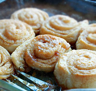 Easy At Home Slow Cooker Caramel Rolls