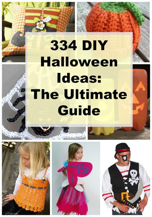334 DIY Halloween Ideas: The Ultimate Guide