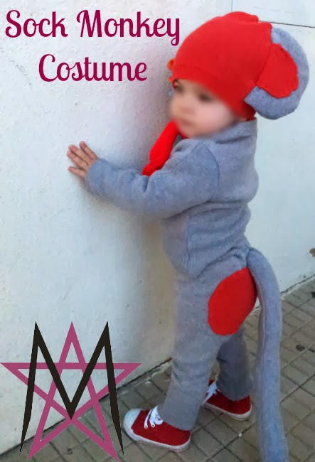 Sock Monkey DIY Halloween Costume  sc 1 st  AllFreeSewing & Sock Monkey DIY Halloween Costume | AllFreeSewing.com