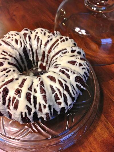 Triple Chocolate Sour Cream Bundt Cake Recipelion Com