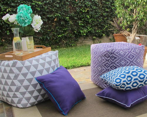 DIY Pillows for Outdoors
