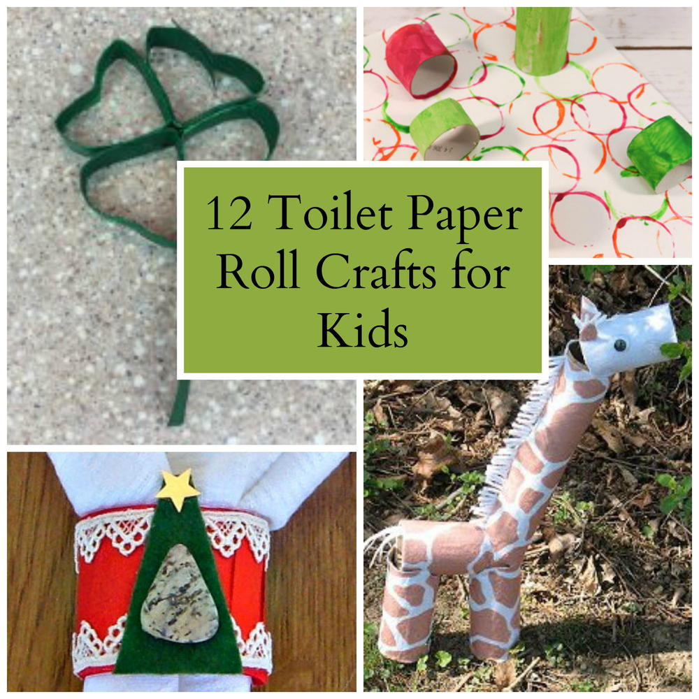 Crafts Made From Paper Towel Rolls: 12 Toilet Paper Roll Crafts For Kids
