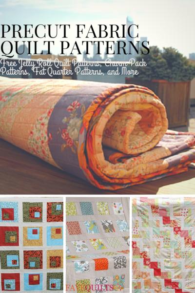 Quilting with Precuts: 100+ Precut Quilt Patterns | FaveQuilts.com : pre cut quilt fabric - Adamdwight.com