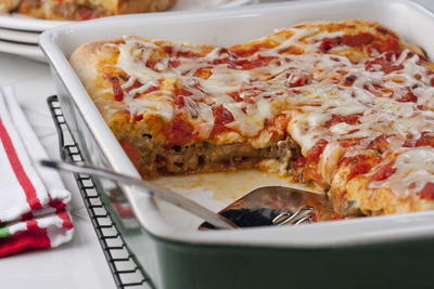 Stuffed Pizza Casserole