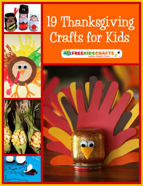 19 Thanksgiving Crafts for Kids free eBook