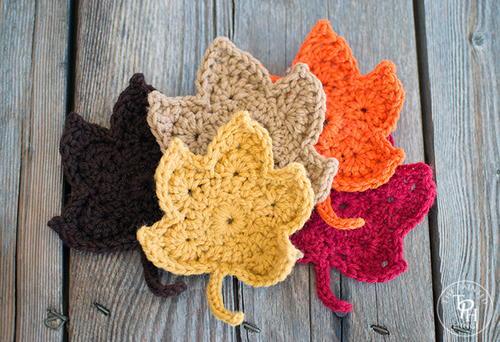 Fall Leaves Free Crochet Pattern Allfreecrochet