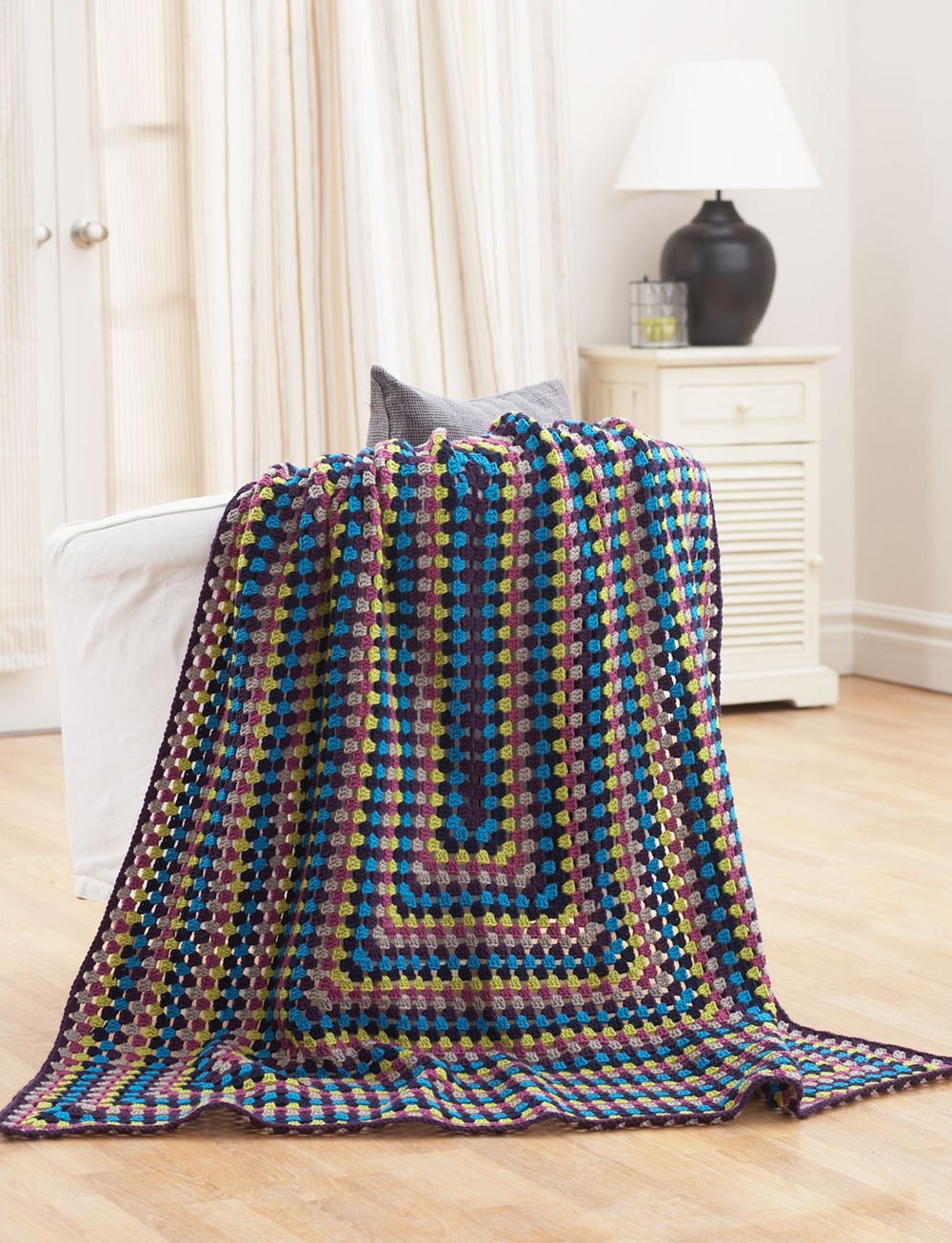 Quick and easy jeweled afghan allfreecrochet bankloansurffo Images