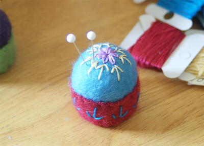 Teensy Bottlecap Pin Cushion Pattern