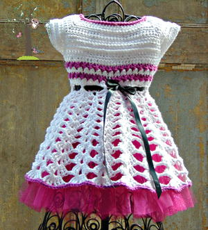 Isabella Crochet Dress