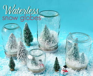 Twinkly Waterless Snow Globe