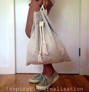 Slouchy DIY Backpack