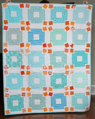 Fat Quarter Jumble Quilt