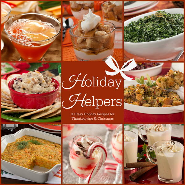 Holiday Helpers free eCookbook